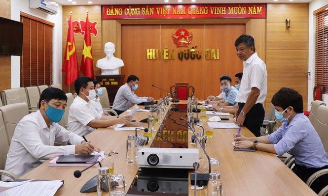 (Tiếng Việt) Kiểm tra việc thực hiện các biện pháp phòng dịch COVID-19 tại các Cụm công nghiệp và các Doanh nghiệp sản xuất SPCNCL trên địa bàn Thành phố